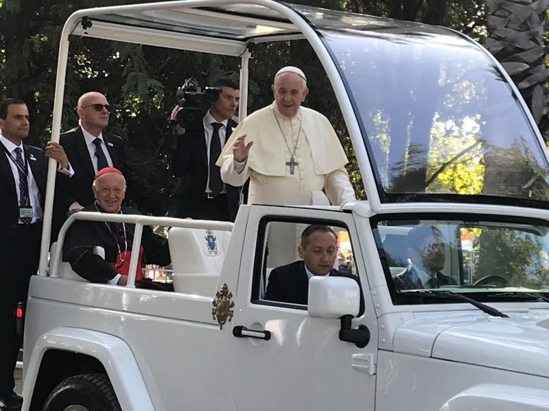 Visita del Papa Francisco a Chile